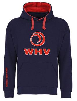 WHV Handball Hoodie Big Logo Kontrast