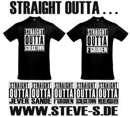"""""""STRAIGHT"""" T-Shirt"""