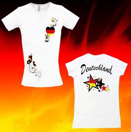 """""""Deutschland"""" Lady-Shirt"""