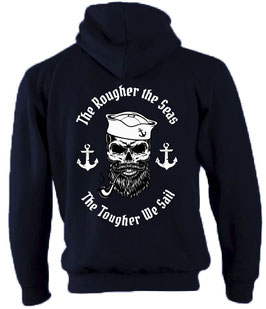 """Tough Sea"" Kapuzen-Sweat-Jacke"
