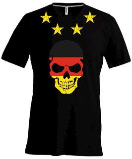 Skull Germany-Shirt