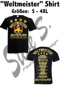 """""""Weltmeister"""" T-Shirt"""