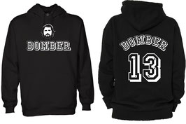 """""""Bomber"""" Spenden Hoodie II Schwarz"""