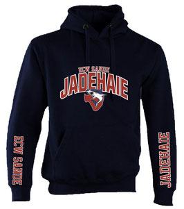"""ECW SANDE HOODIE """"JADEHAIE"""" WUNSCHNAME/NUMMER"""