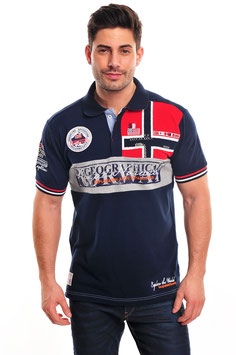 "Geographical Norway Herren Polo ""Kyer Norway"""