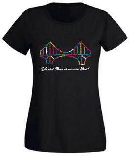 """Wilhelmshaven """"KW-Brücke Stadtteil"""" Lady-Shirt"""