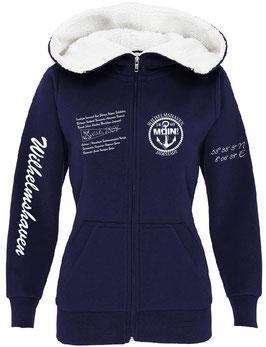 """Wilhelmshaven"" Maritim-Premium-Sherpa-Lady-Kapuzenjacke"