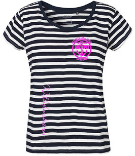 "Wilhelmshaven Lady T-Shirt ""Stripes"""