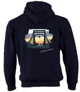 """KW-Brücke"" Picture Kapuzen-Sweat-Jacke"