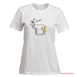 ALP´N´GOLD Hirsch - T-Shirt - Damen