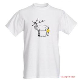 ALP´N´GOLD Hirsch - T-Shirt - Herren