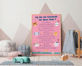 A4 Poster Affirmationen Sujet Sweet