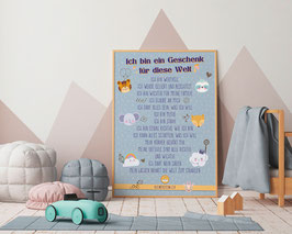 A3 Poster Affirmationen Sujet Sweet