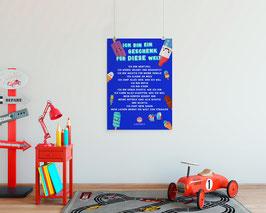 A3 Poster Affirmationen Sujet Glacé
