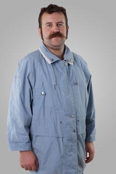 Куртка светло-голубая