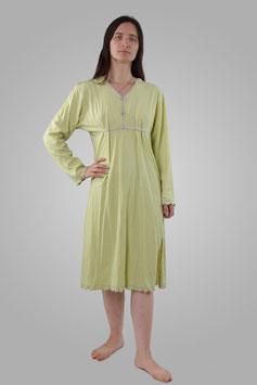 Платье желто-зеленое