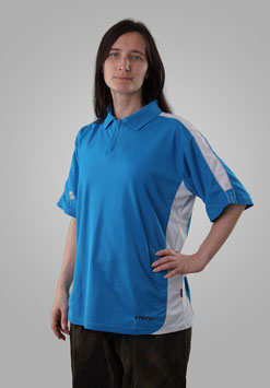Тениска голубая