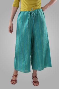 Юбка-штаны бирюзовая
