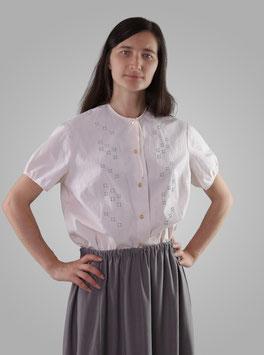 Блузка светло-розовая