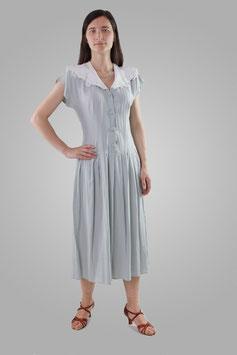 Платье светло-серое