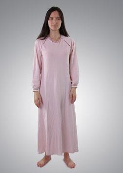 Ночнушка розовая длинная