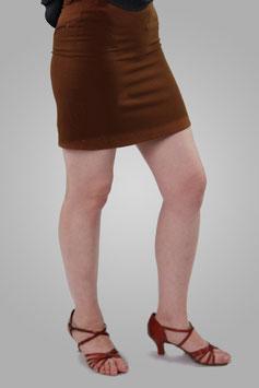 Юбка коричневая короткая