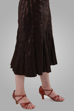 Юбка темно-коричневая
