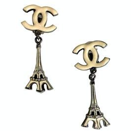 Boucles d'oreilles clips Chanel