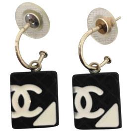 Boucles d'oreilles Chanel CC Ooups, VENDUES