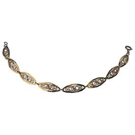 Bracelet en or jaune 18k Non-signé