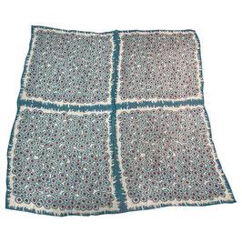 Foulard Hermès Carré Géant en mousseline de soie