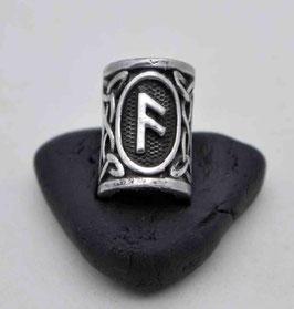 Bartperlen mit nordischen Runen