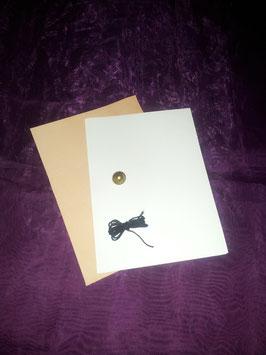 einfaches Lederbuch auch zum selbst binden