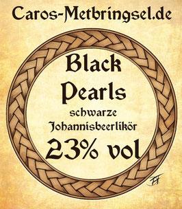 """Likör """"Black Pearls"""" mit schwarzen Johannisbeeren"""