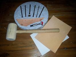 Werkzeugset zum Punzierworkshop (zum mit nach hause nehmen)