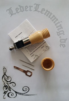 Nähahle mit Holzgriff für Leder oder Segeltuch
