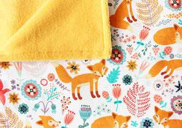 Babydecke | Fuchs gelb *NEU