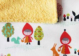 Babydecke | Rotkäppchen gelb