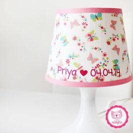 Lampenschirmbezug mit Namen