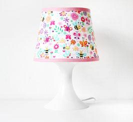 Lampenschirmbezug | Bienchen in Rosa