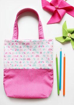 Kinderbeutel | Spatzen in Pink