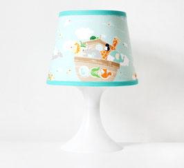 Lampenschirmbezug | Zootiere im Wasser