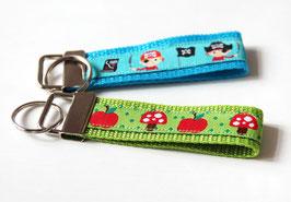 Schlüsselanhänger | Apfel oder Pirat