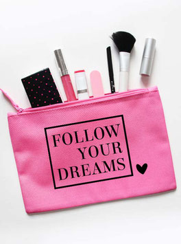 Kosmetiktasche | follow you dreams