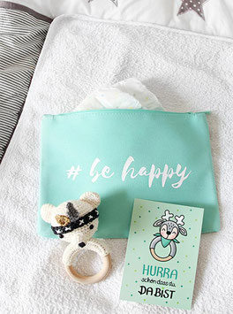 Kosmetiktasche | #be happy