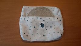 Pochette à mouchoirs ou à cotons démaquillants étoiles