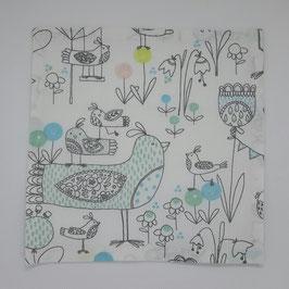 Mouchoir en tissu birdies