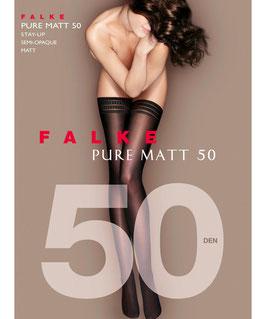 Falke Stay Ups Pure Matt 50Den