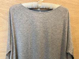 Weiss knielanges Nachthemd aus Modal