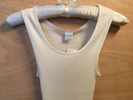 Oscalito Body Wolle Seide Rippe - Creme